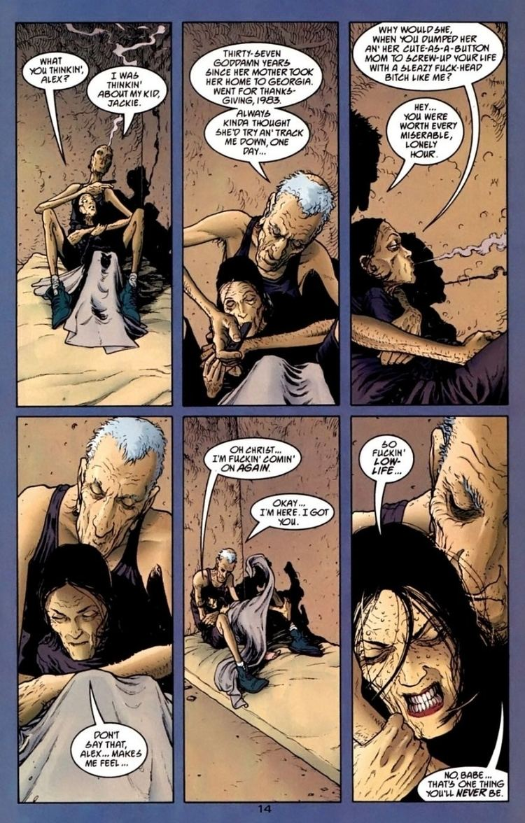 2020 Visions FRANK QUITELY 2020 VISIONS 2 PAGE14 LUST FOR LIFE in Carlos P