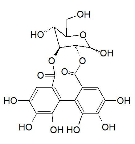 2,3-(S)-Hexahydroxydiphenoyl-D-glucose