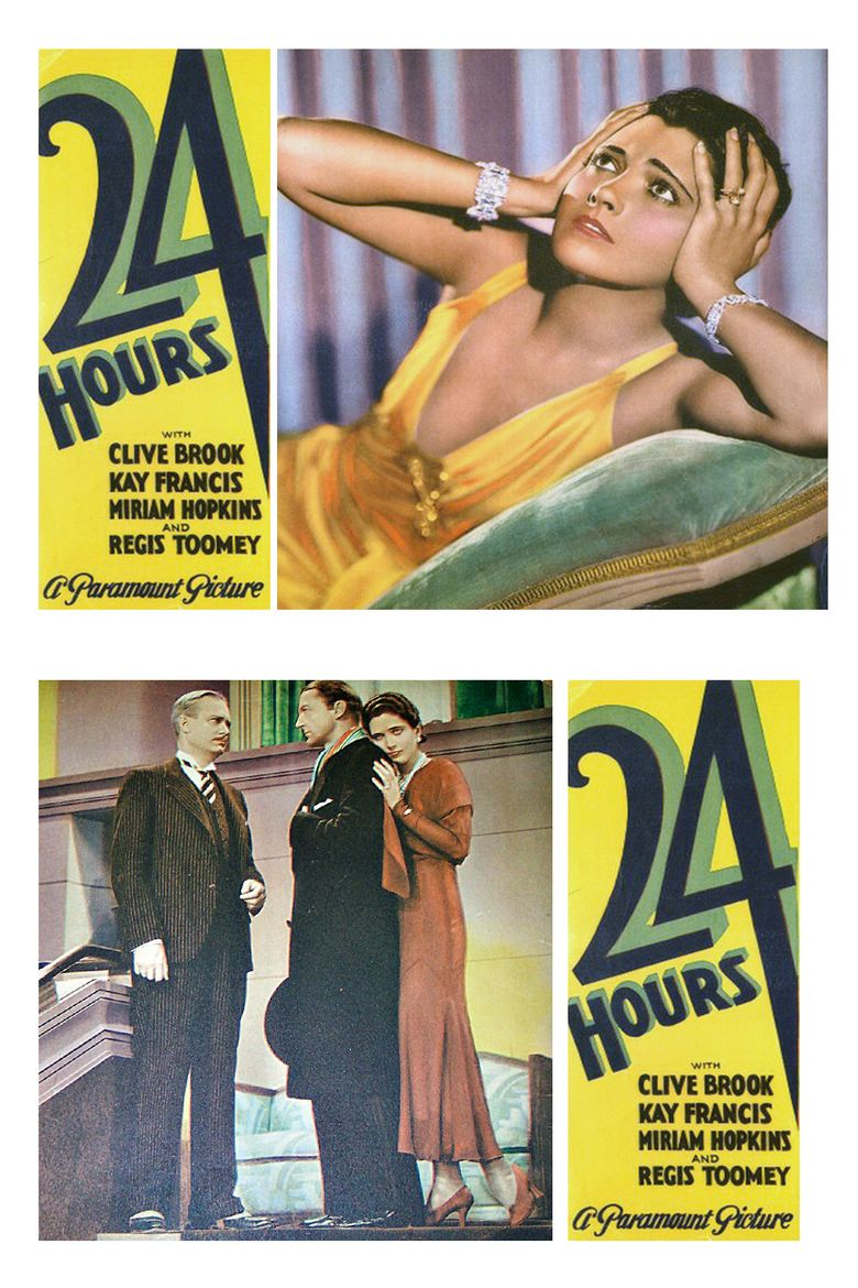 24 Hours (1931 film) movie poster