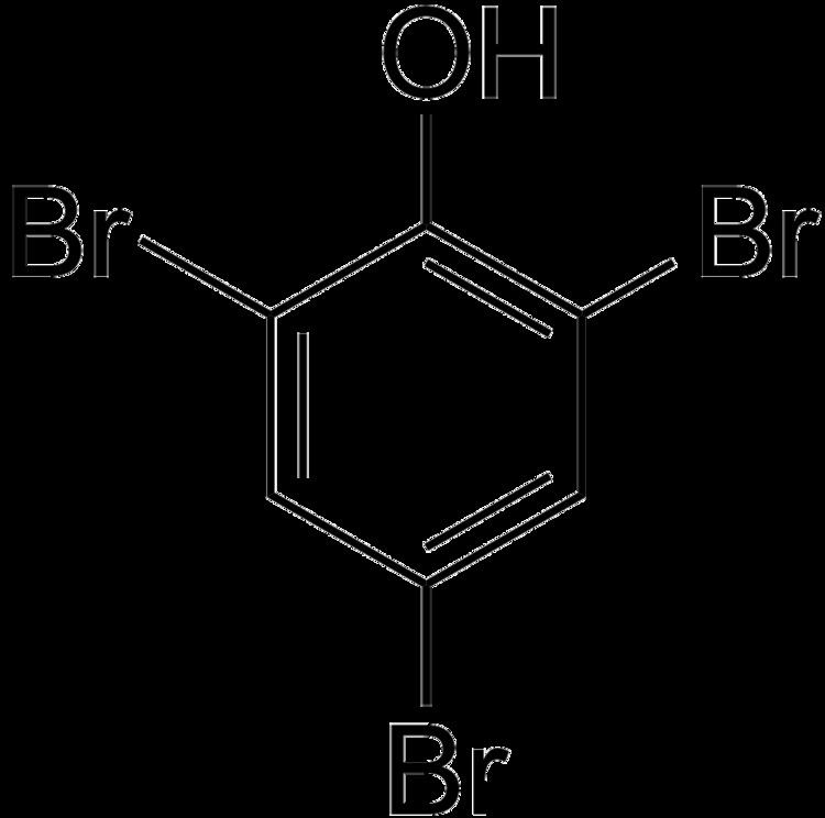2,4,6-Tribromophenol File246Tribromophenolpng Wikimedia Commons