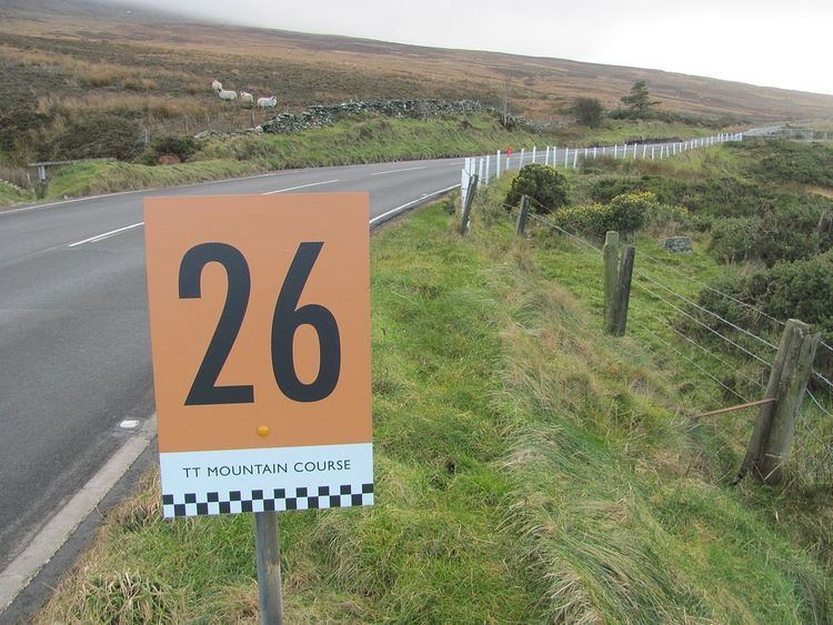 26th Milestone, Isle of Man