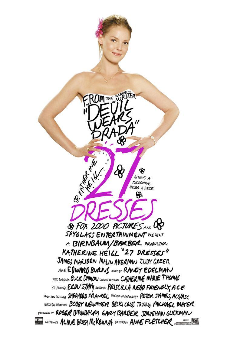 27 Dresses wwwgstaticcomtvthumbmovieposters170961p1709