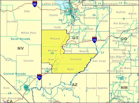 28th Utah Senate District