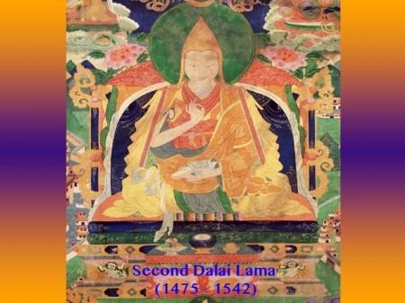 2nd Dalai Lama Seed of Blue Light and Birth of the Second Dalai Lama Cosmic Cradle