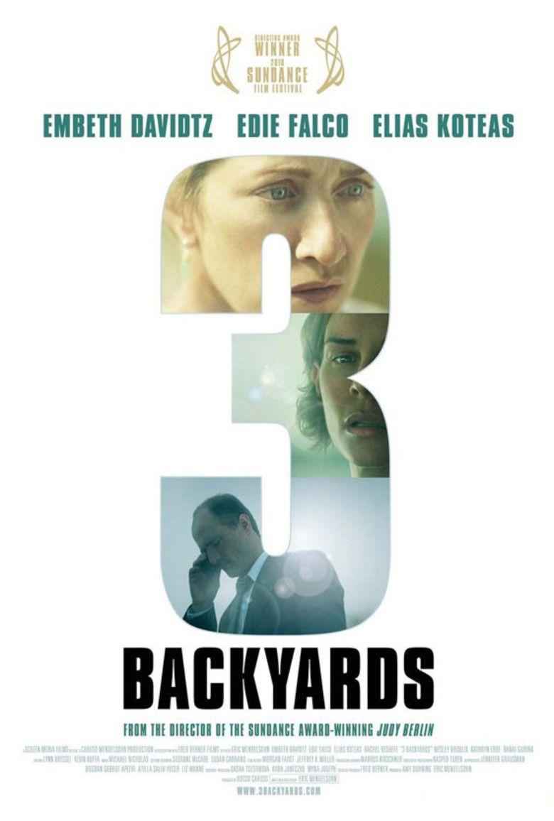 3 Backyards movie poster
