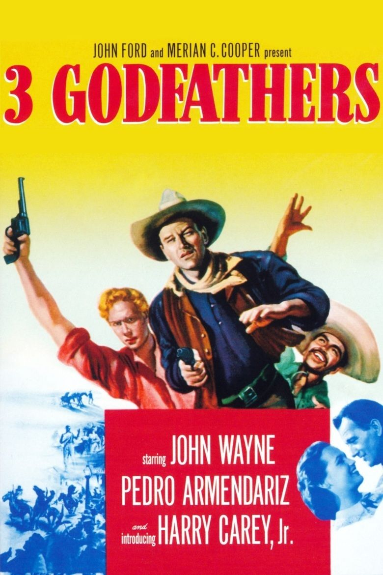 3 Godfathers movie poster