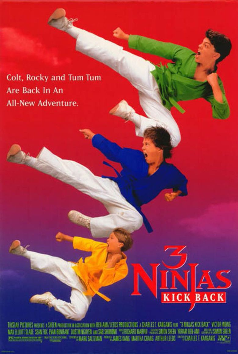 3 Ninjas Knuckle Up movie poster