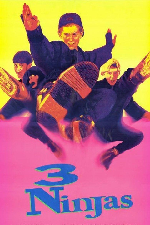 3 Ninjas (film) movie poster