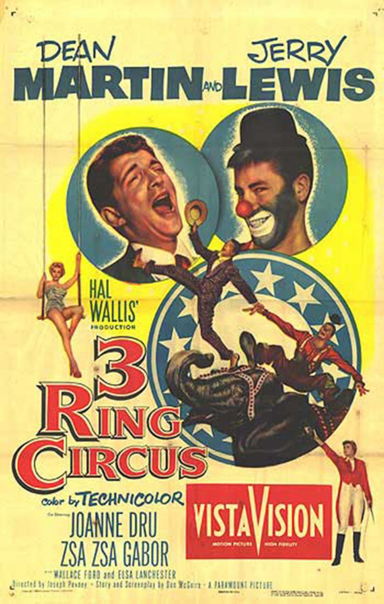 3 Ring Circus movie poster