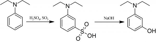 3-Aminophenol Synthesis of 3DIETHYLAMINOPHENOL PrepChemcom