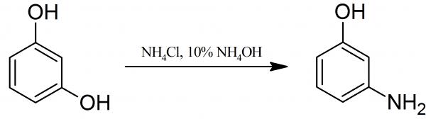 3-Aminophenol Synthesis of 3AMINOPHENOL PrepChemcom