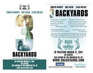 3 Backyards 3 Backyards Movies Filmed on Long Island