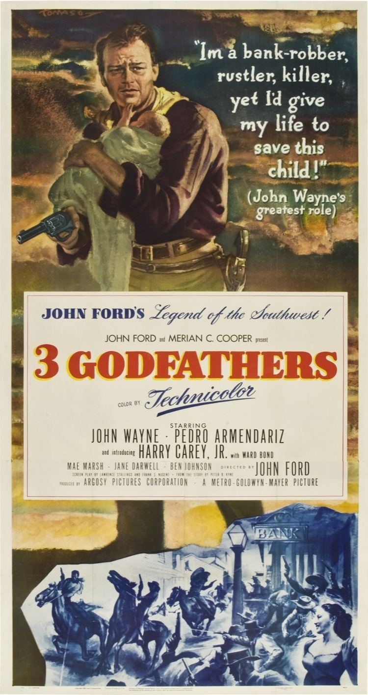 3 Godfathers 3 Godfathers 1948 The League of Dead Films