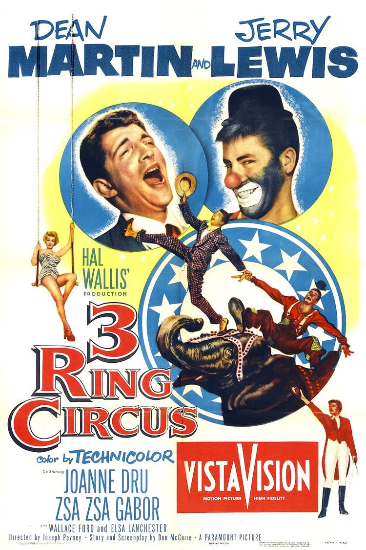 3 Ring Circus wwwgstaticcomtvthumbmovieposters29082p29082