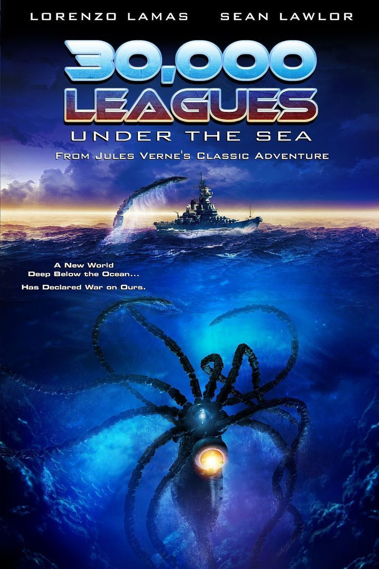 30,000 Leagues Under the Sea movie poster