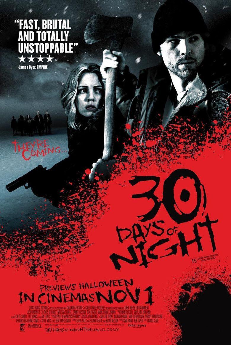 30 Days of Night (film) movie poster
