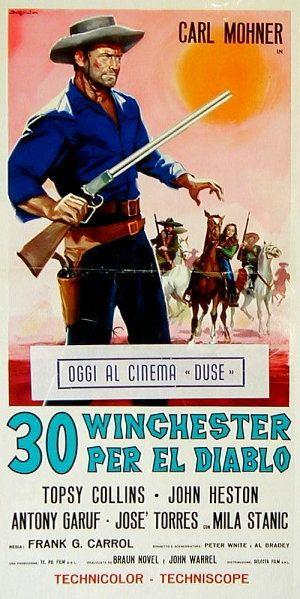 30 Winchester per El Diablo 30 Winchesters for El Diablo 1965 Once Upon a Time in a Western