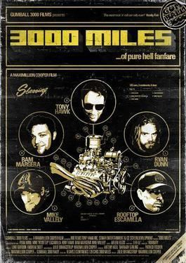 3000 Miles movie poster