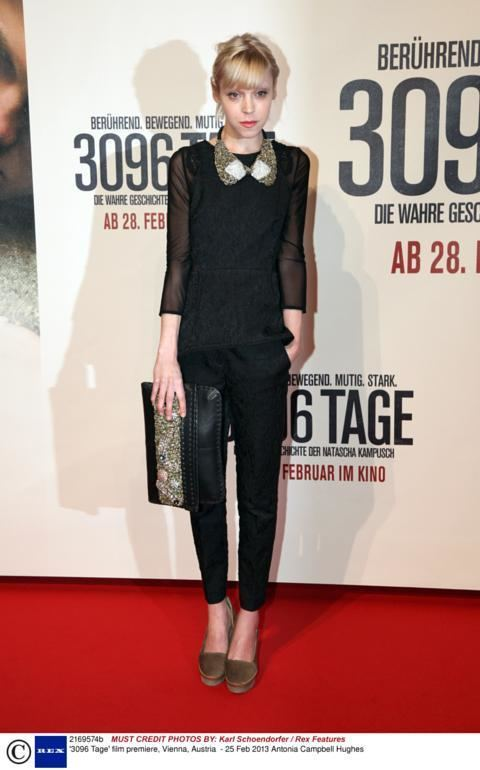 3096 Kidnap victim Natascha Kampusch attends 3096 Days premiere in Vienna