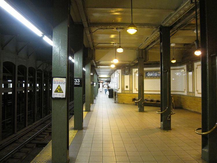 33rd Street (IRT Lexington Avenue Line)
