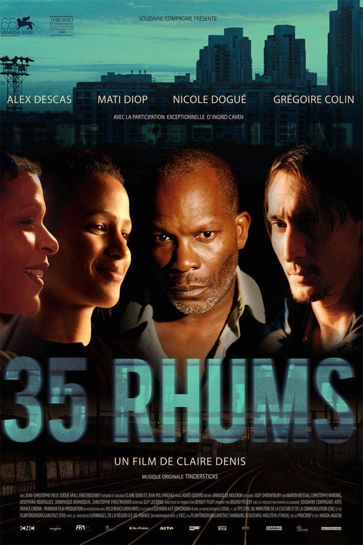 35 Shots of Rum movie poster
