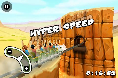 3D Rollercoaster Rush 3D Rollercoaster Rush FREE for iOS Free download and software