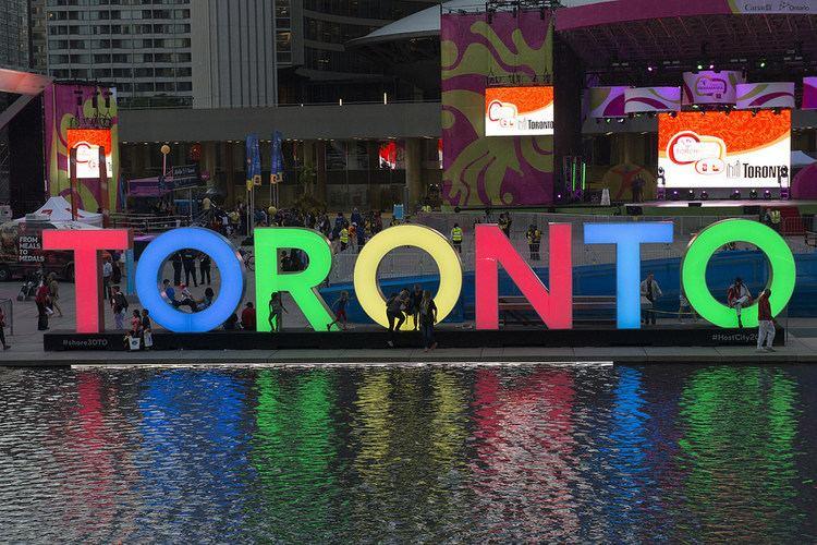 3D Toronto sign 3D TORONTO sign Get in the TORONTO 2015 spirit Tweet us Flickr