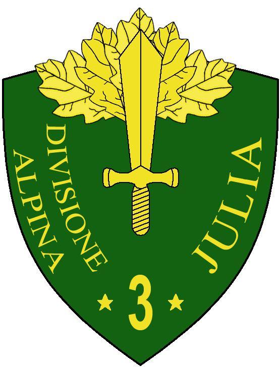 3rd Alpine Division Julia