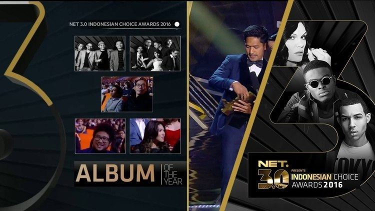 3rd Indonesian Choice Awards Album Of The Year Indonesian Choice Award 2016 on NET 30 YouTube