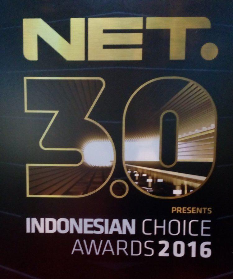 3rd Indonesian Choice Awards NET on Twitter quotLogo resmi NET 30 presents Indonesian Choice