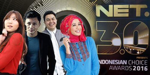 3rd Indonesian Choice Awards Inilah Daftar Lengkap Pemenang Indonesian Choice Awards 2016