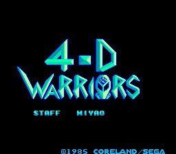 4-D Warriors uploadwikimediaorgwikipediaen33f4DWarrior