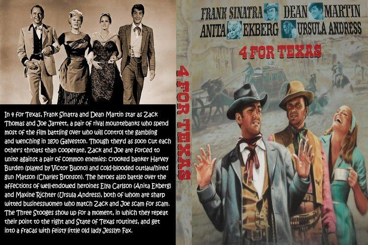 4 for Texas COVERSBOXSK 4 For Texas 1963 high quality DVD Blueray Movie