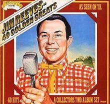 40 Golden Greats (Jim Reeves album) httpsuploadwikimediaorgwikipediaenthumbe