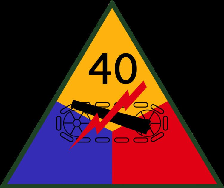 40th Armored Division (United States)