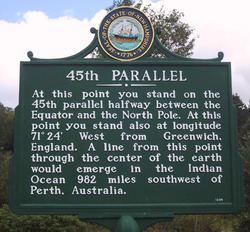 45th parallel north httpsuploadwikimediaorgwikipediacommonsthu