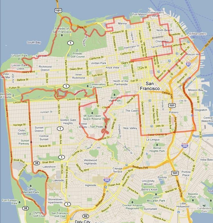 49-Mile Scenic Drive Google Map 49 Mile Drive