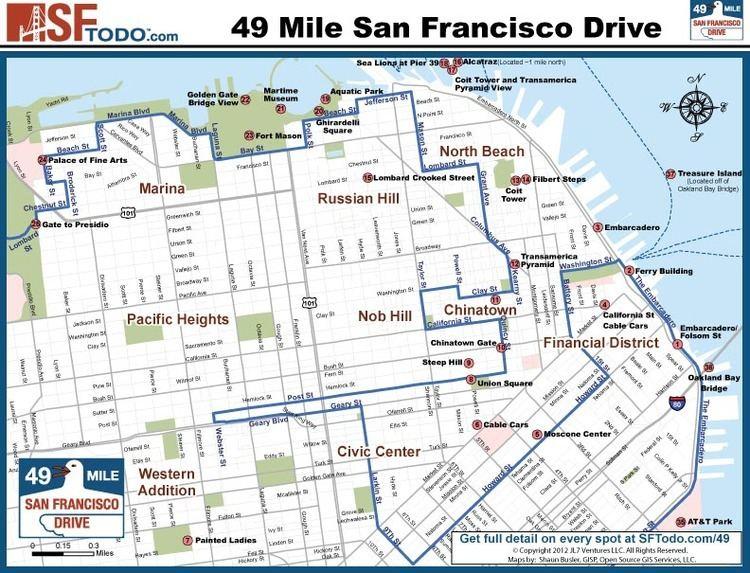 49-Mile Scenic Drive Scenic 49 Mile Drive