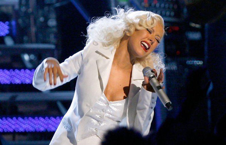 49th Annual Grammy Awards Christina Aguilera Pictures 49th Annual Grammy Awards Show