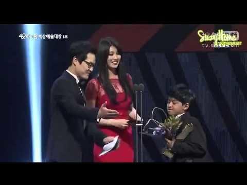49th Paeksang Arts Awards 130509 Suzy cut 49th Baeksang Art Awards 2013 YouTube