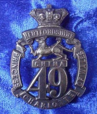 49th (Princess Charlotte of Wales's) (Hertfordshire) Regiment of Foot