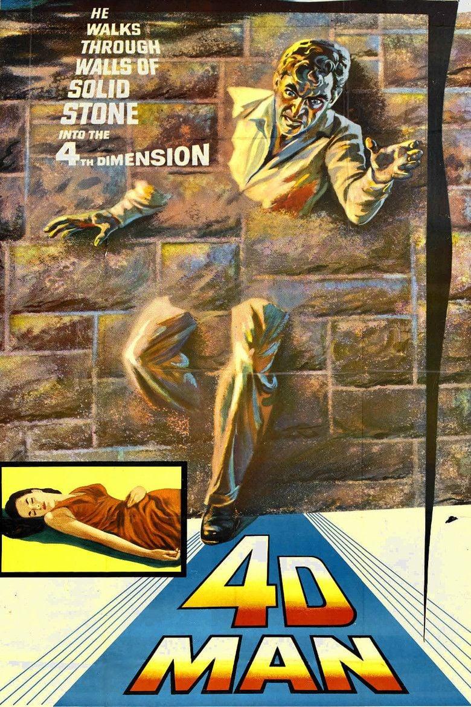 4D Man movie poster