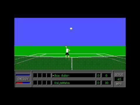 4D Sports Tennis 4D Sports Tennis for the PC DOS YouTube