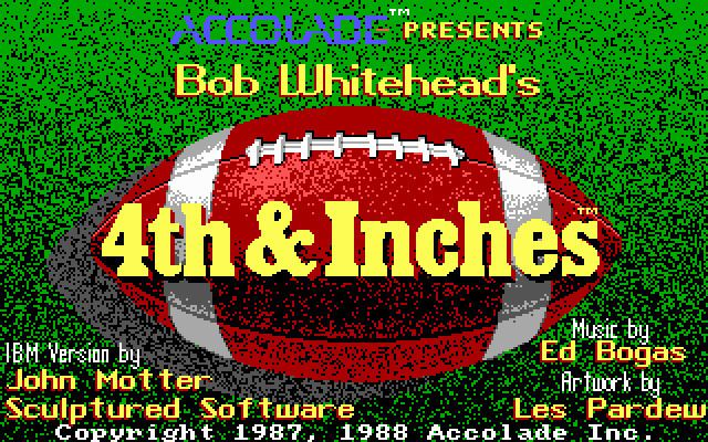 4th & Inches Download 4th amp Inches My Abandonware