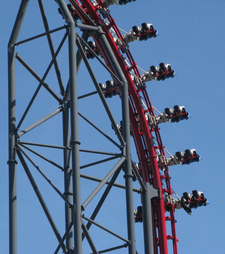 4th Dimension roller coaster