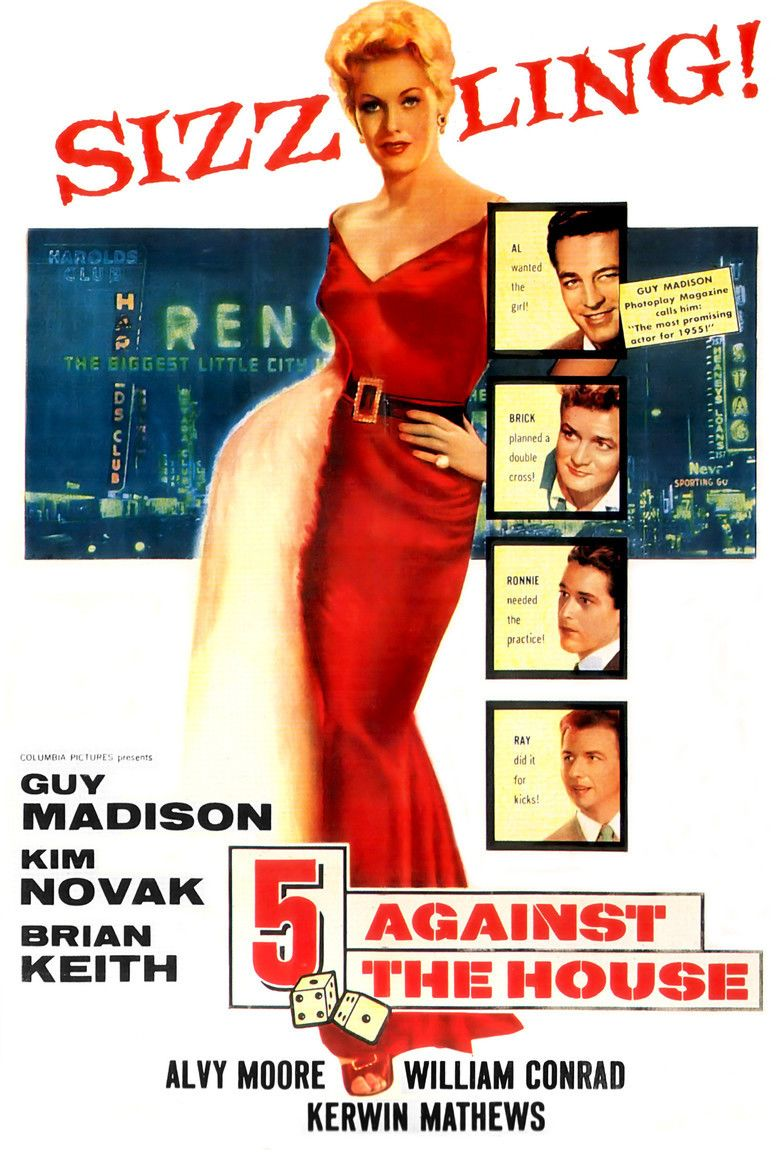 5 Against the House movie poster