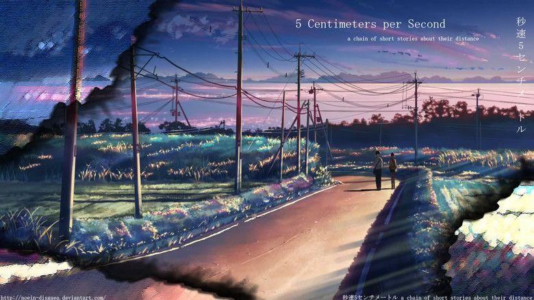 5 Centimeters Per Second movie scenes