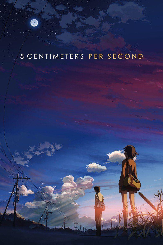 5 Centimeters Per Second movie poster