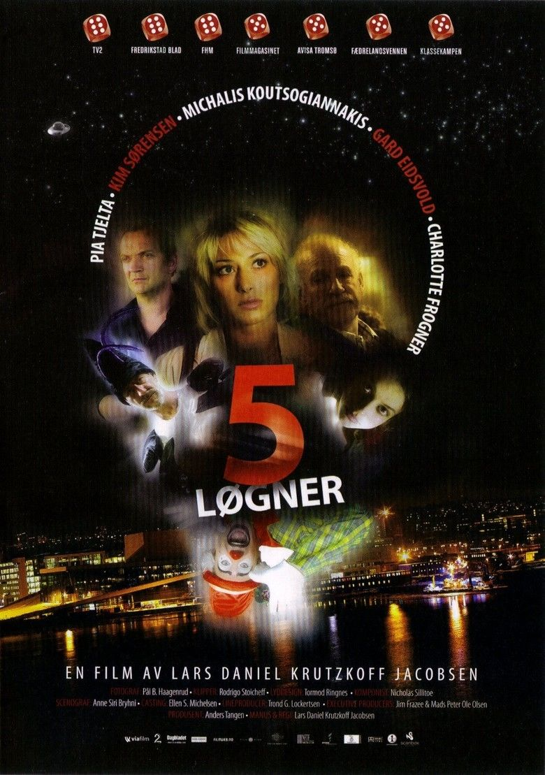 5 Lies movie poster