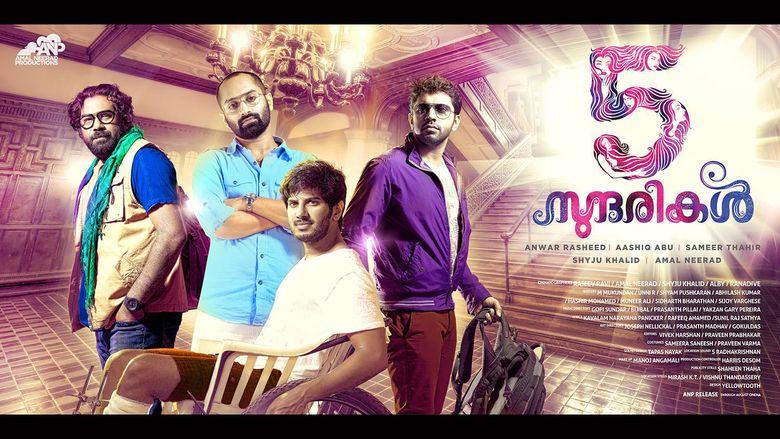 5 Sundarikal movie scenes